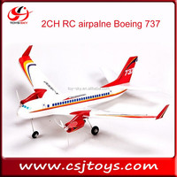 china supplier 2CH RC airplane EPP Plane boeing 737 for sale