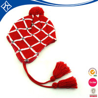 custom size folding knit Earflap Hat Crochet Pattern