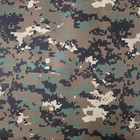 hot selling camouflage taffeta fabric printing