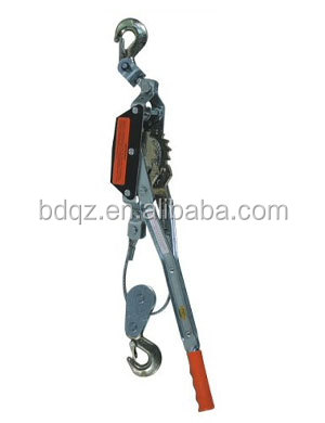 wire rope tightener/hand puller/lifting tools manual ratchet wire rope puller