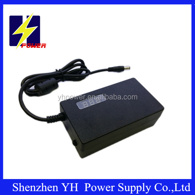 Factory LCD Toshiba laptop adapter LED screen display AC DC 3A power adapter
