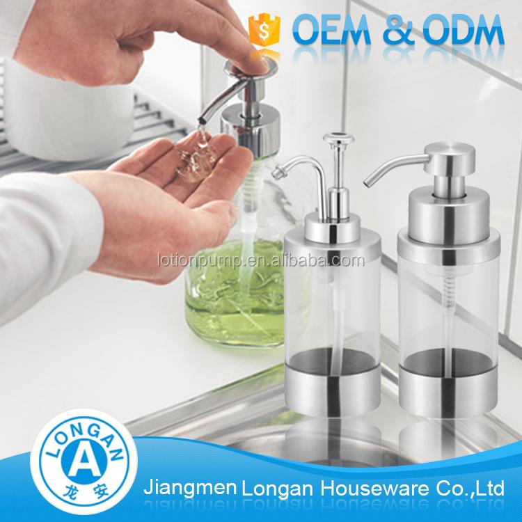 Oem Custom 30g Stainless Steel 304 Glass Bottles Kitchen Hand Power Sprayer  Foam Soap Dispenser - Buy Soap Dispenser,Foam Soap Dispenser,Hand Soap ...