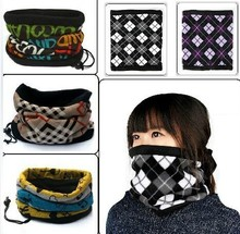 Outdoor Sunscreen Sport Ring Scarves Fleece Neck Warmer Snood Scarf Hat Unisex Thermal Ski Wear Snowboard Muffler Neckerchief