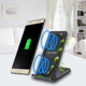 Fast Charge Wireless Charging Convertible Stand W/ AFC Wall Charger S8 for Samsung