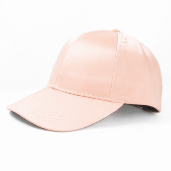 Blank Satin lined Sport Baseball Cap smooth hat