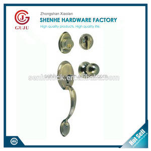 Zinc Alloy security lockset handle and knob mortise gate lock