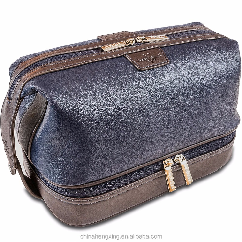 7814a1a6575d Vetelli Leo Leather Toiletry Bag For Men - Dopp Kit - Handmade For  Traveling Vacations And Adventures. The Ultimate Gift - Buy Leather Hanging  ...