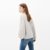 HAODUOYI Women Sweaters Long Lantern Sleeve Gray Solid Knitted Tops Loose Casual Pullovers Winter Collection for Wholesale