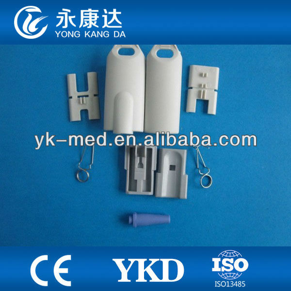 SpO2 sensor spare and parts,medical parts adult finger clip shell