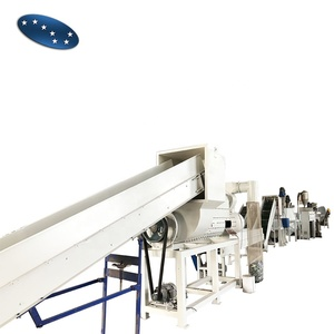 Sevenstars Machinery 500KG waste plastic PET bottles recycling crushing washing drying line