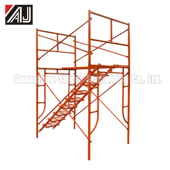 H Frame Scaffolding For Buildings Outside Wall Overhauling - Buy ...