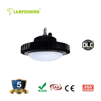 New Design Cheap Industrial Super Bright 120lm/w DLC CE ROHS FCC SAA 120W UFO LED High Bay Light