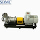 High temperature stainless steel thermal oil pump for feeding an oil burner or furnace
