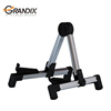 Professional Folding Popular Universal Collapsible A-Frame Guitar Stand for traveling