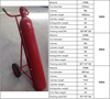 CE Standard Portable CO2 Fire Extinguisher With CE Certification