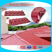 Hot selling new material long color lasting purple roof tile