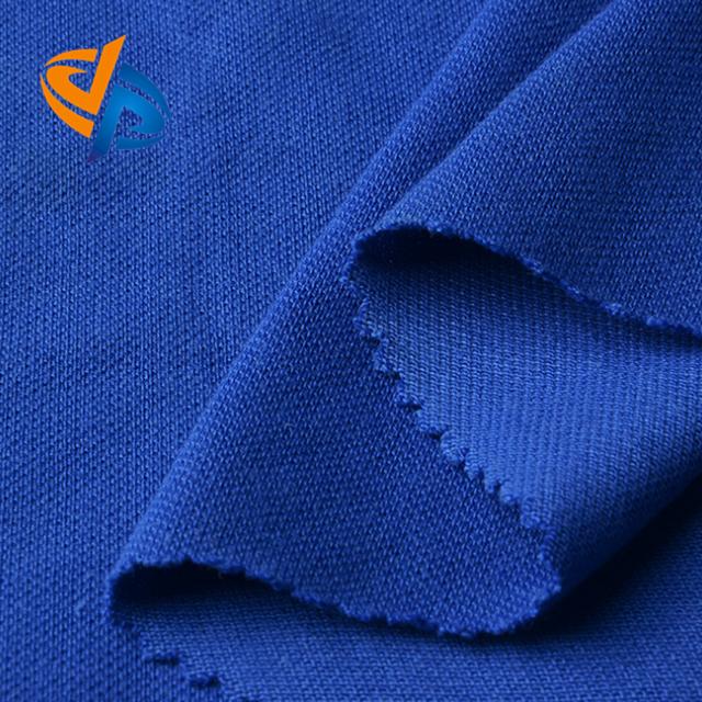 En 11611 Protex Modacrylic Cotton Antistatic pique knitting fabric