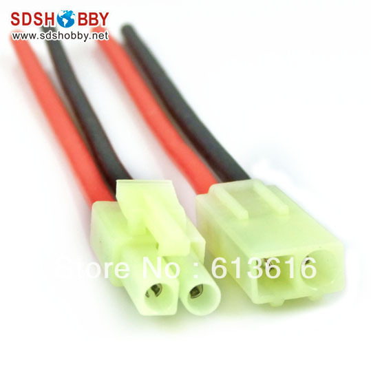 5-Pairs-16AWG-Silica-Gel-Cable-L100mm-wi