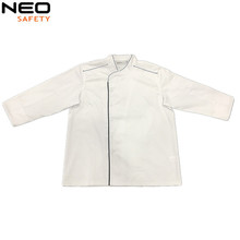Italian women sexy chef uniform jacket design in white