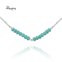 wholesale price raw gemstone beads charm bead chain design jewelry jade necklace