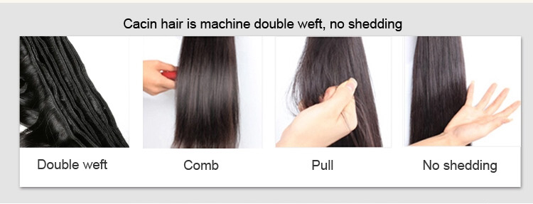 Filippine umani di alta qualità fasci del tessuto dei capelli dell'onda del corpo, di rame rosso sale e pepe tessuto dei capelli