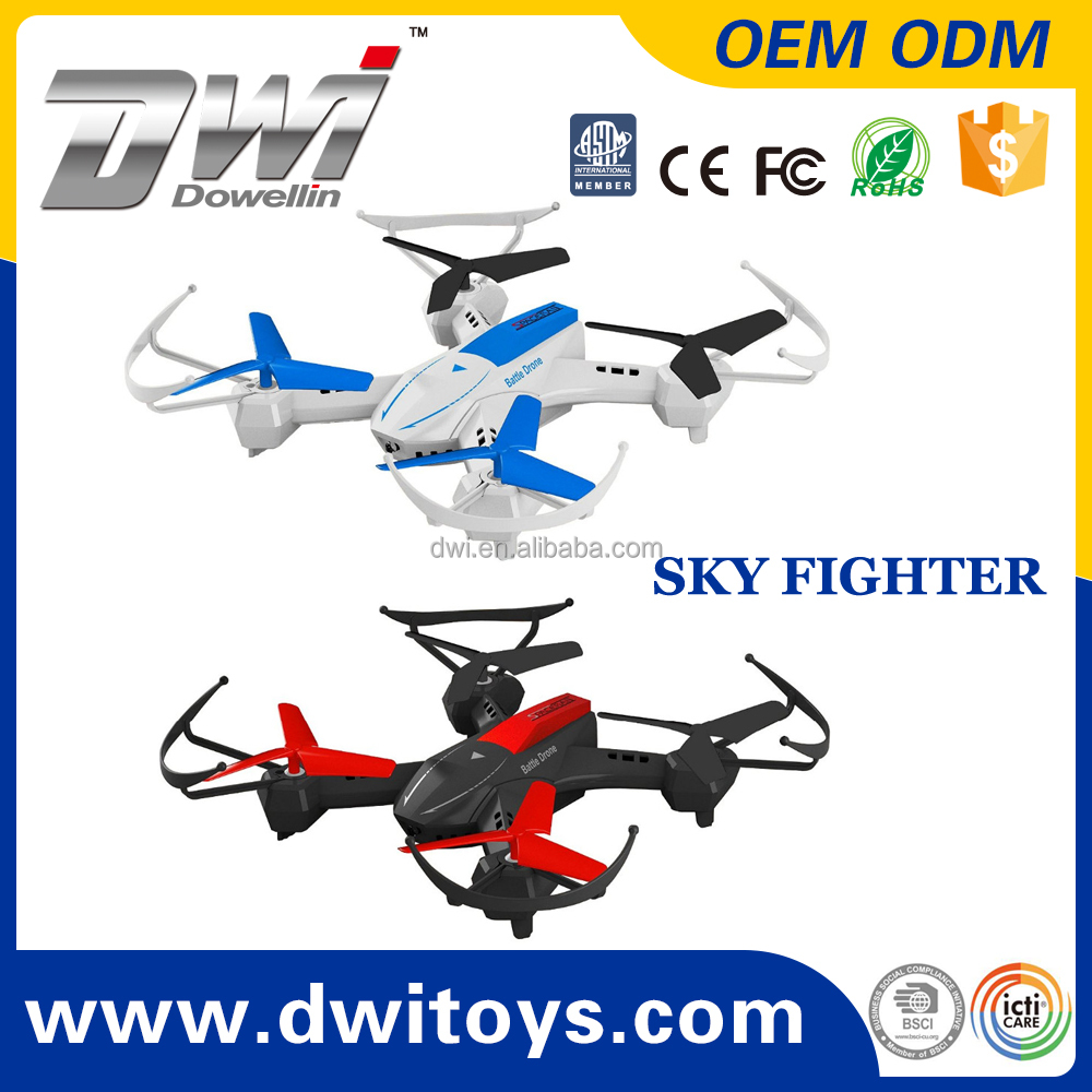 Helicopter Infrared Laser Sky Fighter Battle Drone Flying UFO Drone With Gyro