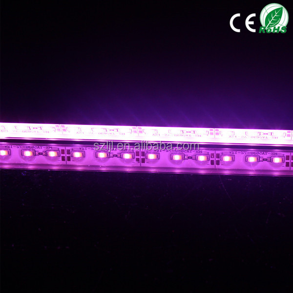 Low voltage DC12V pink rigid led strip with SMD5730 5630 LED