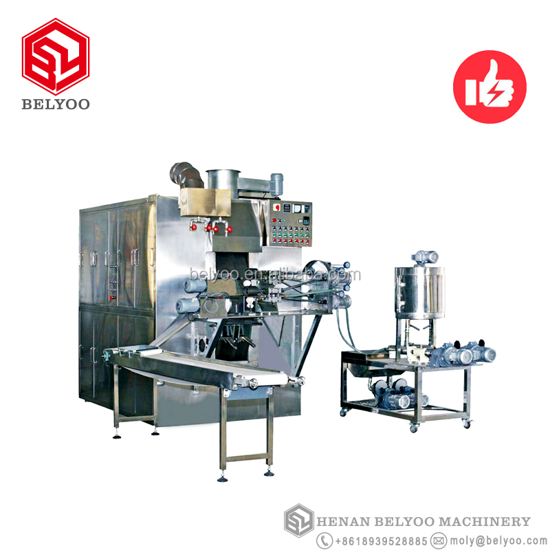 Full auto wafer stick machine coffee wafer biscuit manufacturing process