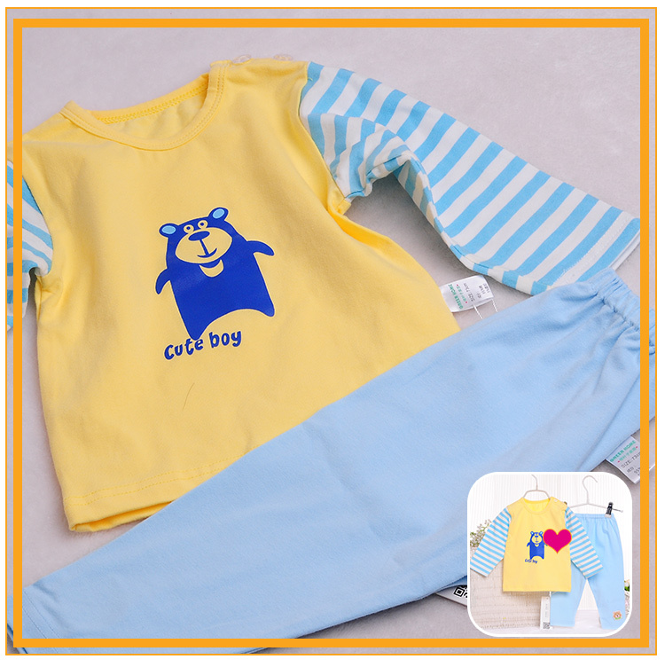 Custom Made Wholesale Comfortable Fabric Baby Toddler Clothing