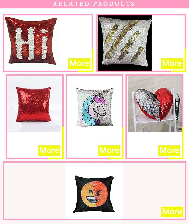 アフリカ設計された枕カバー黄色人気昇華枕カバーブランク