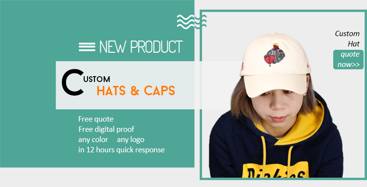 Custom sports cap Cotton unstructured dad hat 6 panel cotton baseball cap