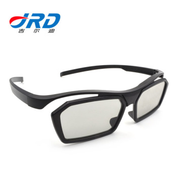 2019 Best Sell JS608 3D Movies Glasses Circular/Liner Polarization 3D Glasses RealD Imax Movies System