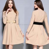 long sleeve fashion clothing women clothes ladies wholesale dropship office dresses women