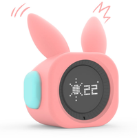 VOBOT Bunny Children's sleep training board alarm clock night light and sleep sound machine with Amazon Alexa