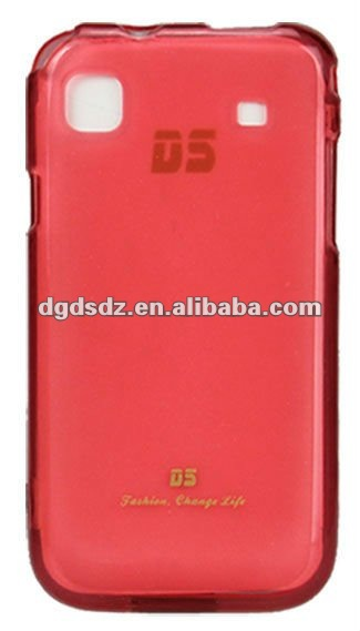mobile phone soft TPU case for Samsung i9003