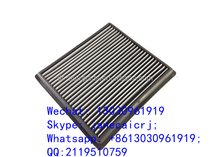 Replacement performance high flow panel air intake filter for LEXUS TOYOTA