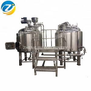 cerveza equipo comercial craft beer brewing machine mash kettle 500l, 1000l, 5000l