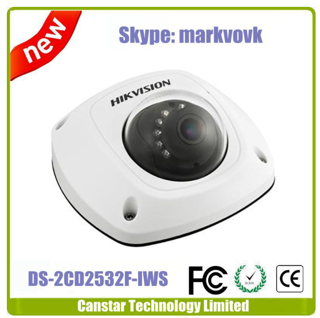 Hikvision cctv camera DS-2CD2532F-IS, IP66+1080P+SD+WIFI+Audio