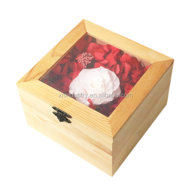 Newly forever rose indian wedding gifts for couples wedding return gift wooden gift box