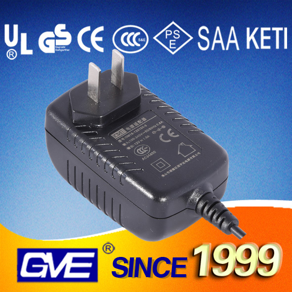 Direct selling high quality portable travel dc 13.8 v 1.4a power adapter