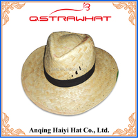 HYSH66 2016 New arrive customized palm leaf hats straw hat
