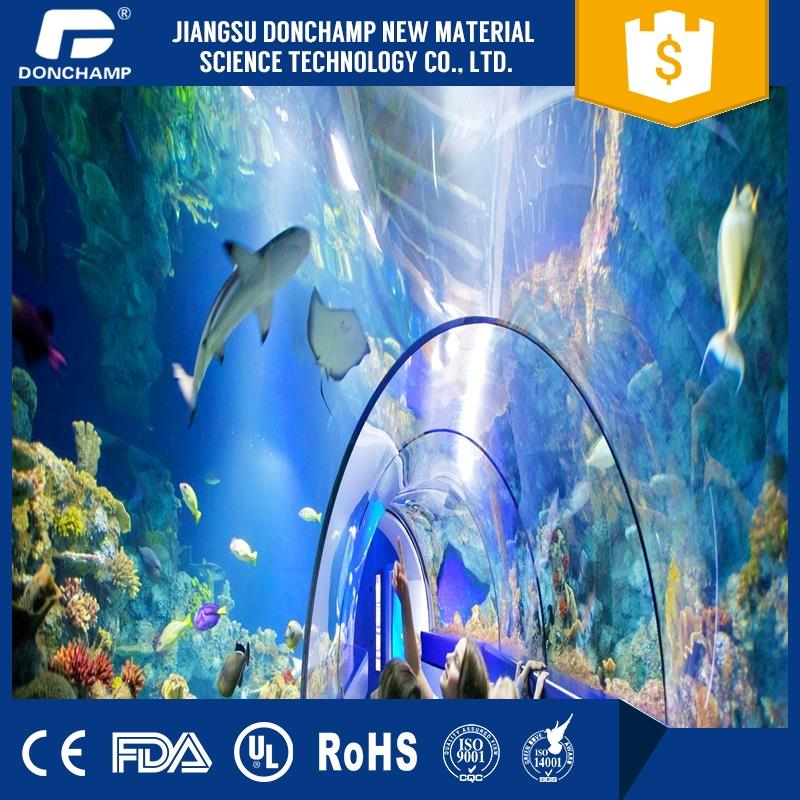 Clear Acrylic Aquarium Tunnel Sold To Fish Exporter In Kerala With