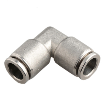 XHnotion 90 Degree Elbow Plumbing 1/2 Inch PEX Fittings Push to Connect Stainless Steel Fitting Pipe Connector