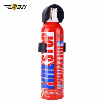 Piccolo Fuoco Stop Estintore con Ugello di Spruzzo di Aerosol, Mini 650 ml Estintore per la Lotta Antincendio, mini Fiamma Fighter