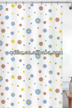 Fabric Bright Colored 3d Shower Curtains Buy 3d Shower Curtains Bright Colored Shower Curtains