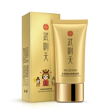 OEM ODM WUZETIAN showing supple moisturizing beauty brightening whitening bb cream