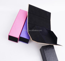leather folding sunglasses case