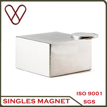 N38 Grade 50mmX50mmX30mm neodymium magnet for large electromagnet