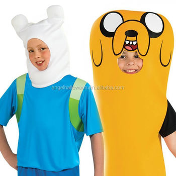 Carnival Party Children Kids Costumes Adventure Time Finn The Human Jake The Dog Cartoon Cosplay Costume  sc 1 st  Alibaba & Carnival Party Children Kids Costumes Adventure Time Finn The Human ...