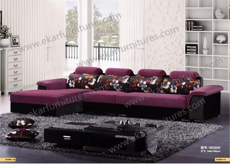 Hotel Long Back Sponge Sitting Sofa Set Furniture